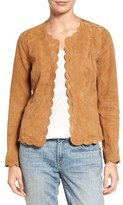 Women's Chelsea28 Scalloped Suede Jacket