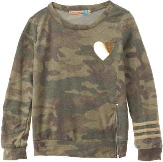 Vintage Havana Brushed Fleece Sweater