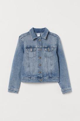 H&M Rhinestone Denim Jacket