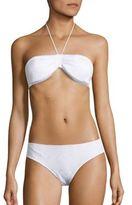 Missoni Mare Two-Piece Chevron Textured Bandeau Bikini