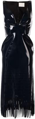 Dion Lee fringed sleeveless midi dress
