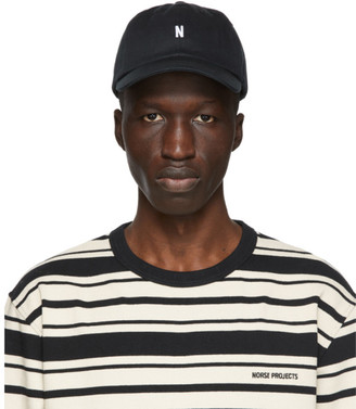 Norse Projects Black Twill Sports Cap