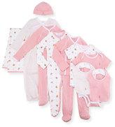 Ralph Lauren 11-Piece Boxed Layette Set, Pink, Size Newborn-9 Months