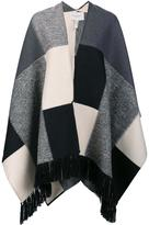 Carolina Herrera 'Big Square' poncho