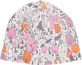 "The Bonnie Mob THE BONNIE MOB REVERSIBLE ""WOODLAND\"" HAT-PINK SIZE 0/12"