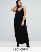 Asos Drape Hareem Maxi Dress