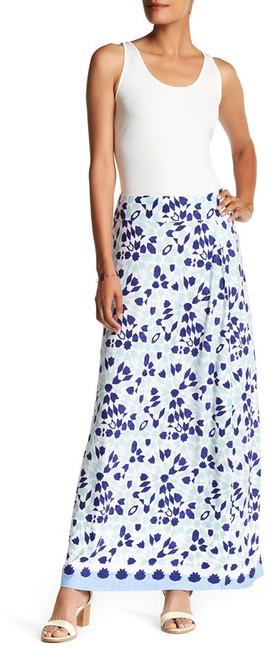 Tommy Bahama Border Tile Maxi Skirt