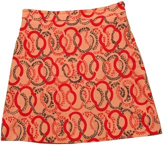 Max & Co. Red Cotton - elasthane Skirt for Women