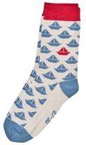 Melton Sock - Paperboat Dust