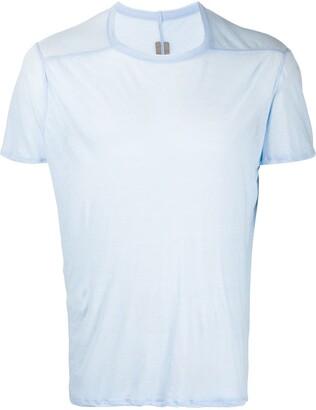 Rick Owens crew neck piped seam T-shirt