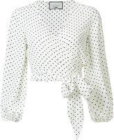 Alexis Nirav wrap blouse - women - Polyester - XS