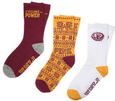 PINK Iowa State University 3-Pack Crew Socks