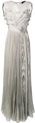 Irina Schrotter Ruffle Maxi Dress