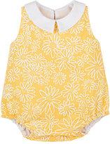 Isabel Garreton Daisy-Print Cotton Bodysuit