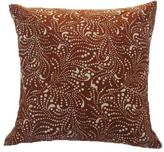 Dots & Swirls Block Batik Pillow