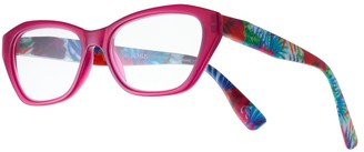 Foster Grant Women's Modera by Kensie Floral Cat-Eye Reading Glasses