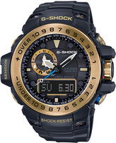 G-Shock Men's Analog-Digital Gulfmaster Black Bracelet Watch 45x56mm GWN1000GB-1A