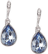Givenchy Faux-Sapphire Pear Drop Earrings