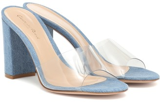 Gianvito Rossi Exclusive to Mytheresa Vivienne 85 denim sandals