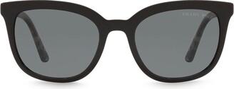 Prada Polarized Soft Square-Frame Sunglasses