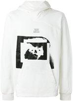 Julius printed hoodie - men - Cotton - 3