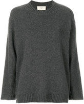 Ports 1961 ribbed trim loose fit jumper