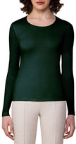 Akris Cashmere-Silk Double-Layer Long-Sleeve T-Shirt