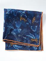 Banana Republic Jungle Pocket Square
