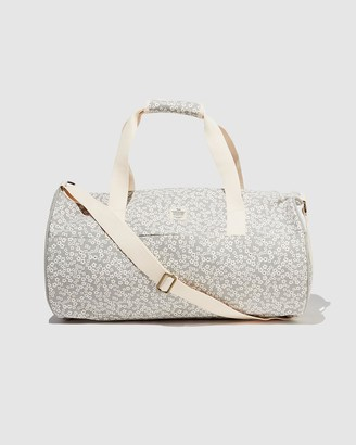 Typo - Women's Grey Weekender - Canvas Barrel Bag - Size One Size at The Iconic