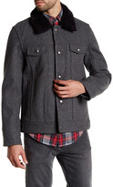 Pendleton Sante Fe Faux Fur Trim Coat