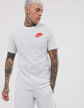 Nike Small Neon Logo T-Shirt White