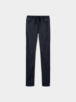 DKNY Pure Denim Pull On Pant With Drawcord
