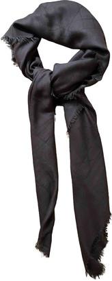 Christian Dior Brown Wool Scarves