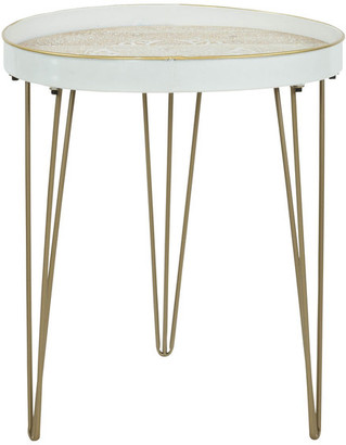 Aspire Home Accents Tenika Metal Accent Table