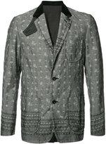 Sacai patterned jacket