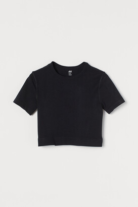 H&M Seamless Short Sports Top