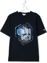 Boss Kids - logo print T-shirt - kids - Cotton - 16 yrs