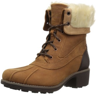 Merrell Women's Chateau Mid Lace Polar Waterproof Snow Boot