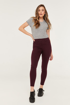 Ardene High Rise Slip-On Pants