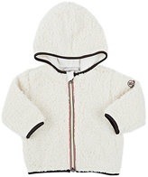 Moncler Faux Shearling Jacket-CREAM
