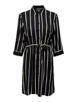 Only Women's Onltamari 3/4 Shirt Dress WVN Noos