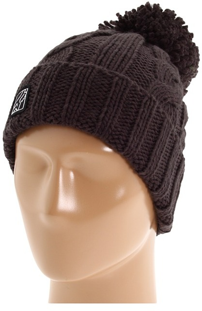 Fox Rebellion Beanie (Carbon) - Hats
