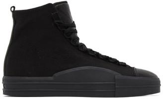Y-3 Black Yuben Mid Sneakers
