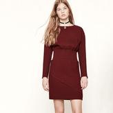 Maje Woven dress with elasticated waist