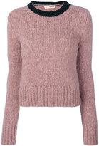 Marni two tone jumper - women - Polyamide/Wool/Alpaca - 42
