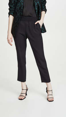Alice + Olivia Benny Tapered Pull Up Pants