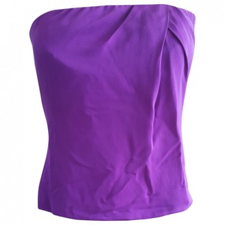 Gucci Purple Silk Top for Women Vintage