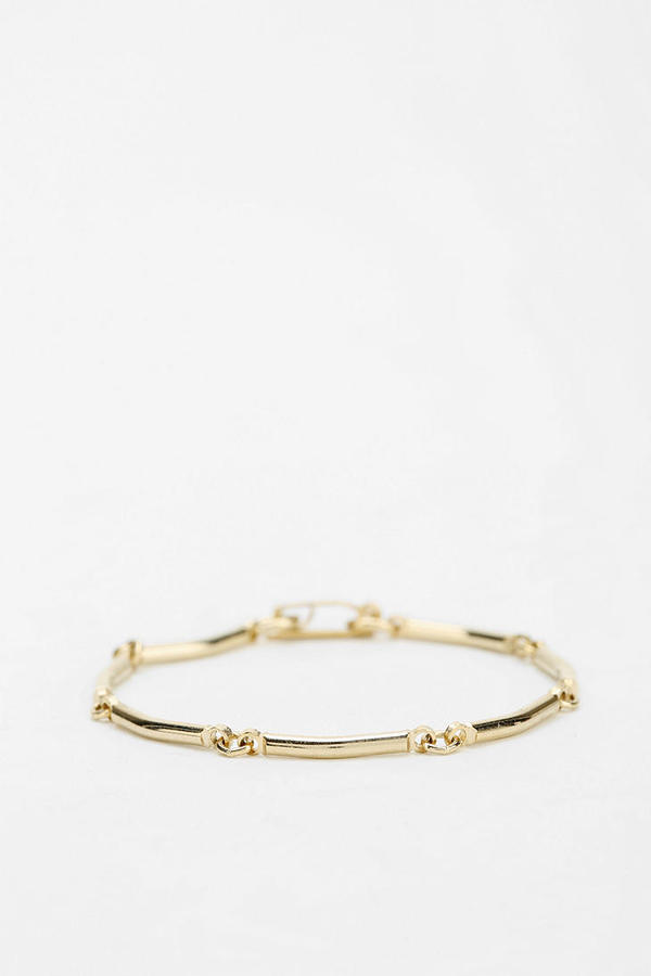 Urban Outfitters Diament Jewelry X Urban Renewal Link Bracelet