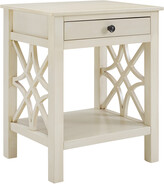 Linon Whitley Antique White End Table