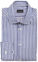 Ermenegildo Zegna Men's Washed Bengal Stripe Dress Shirt